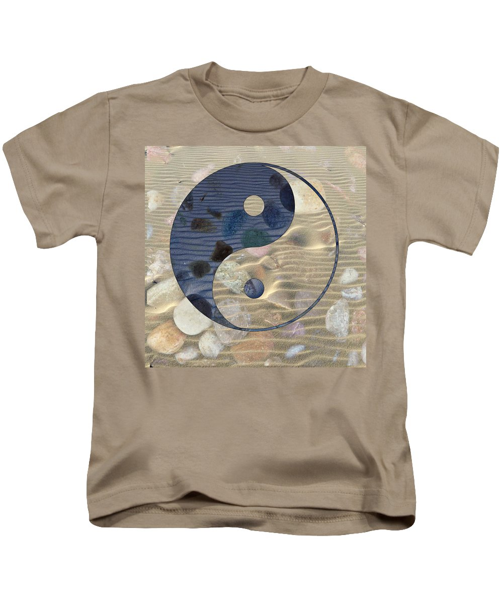 Yin And Yang Kids T-Shirt featuring the photograph Yin Yang Harmony by Anthony Robinson