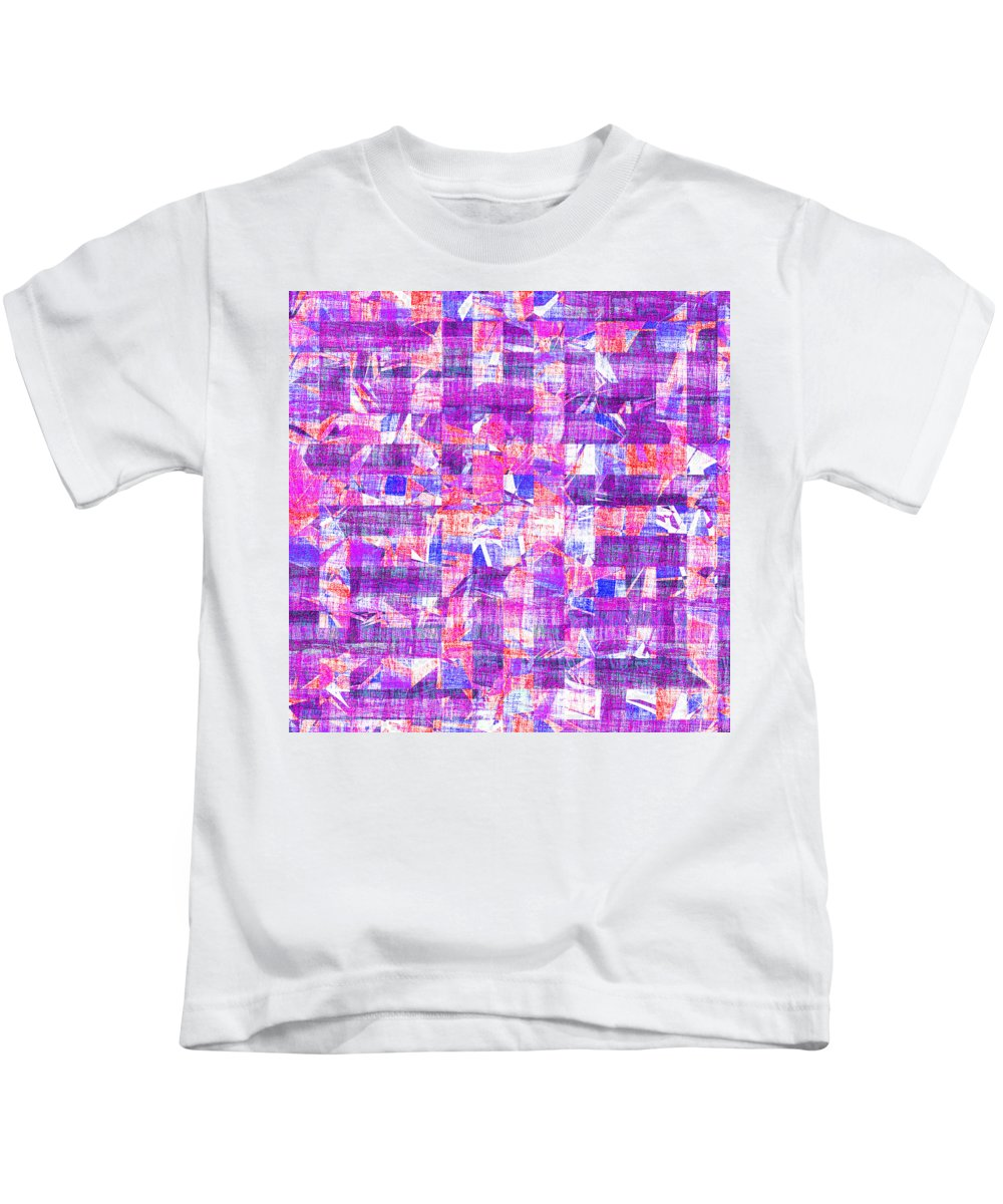 Abstract Kids T-Shirt featuring the digital art 0397 Abstract Thought by Chowdary V Arikatla