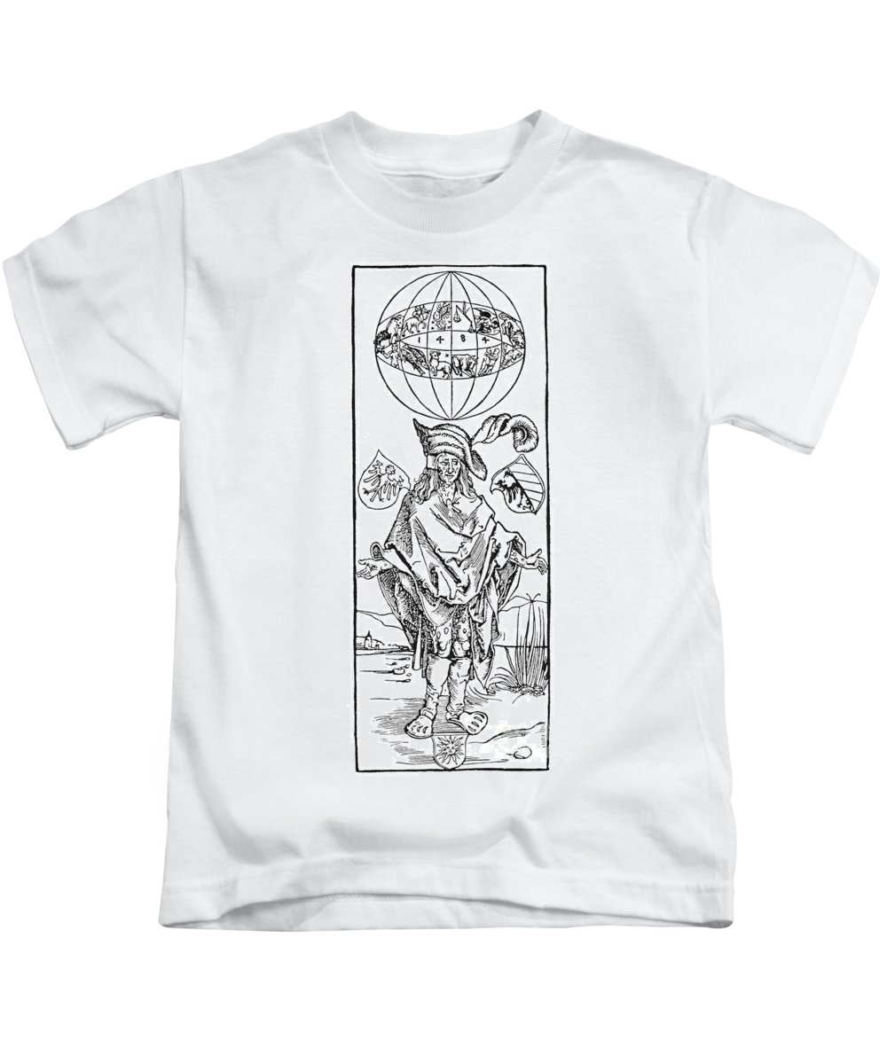1496 Kids T-Shirt featuring the photograph Durer: Syphilitic, 1496 by Granger