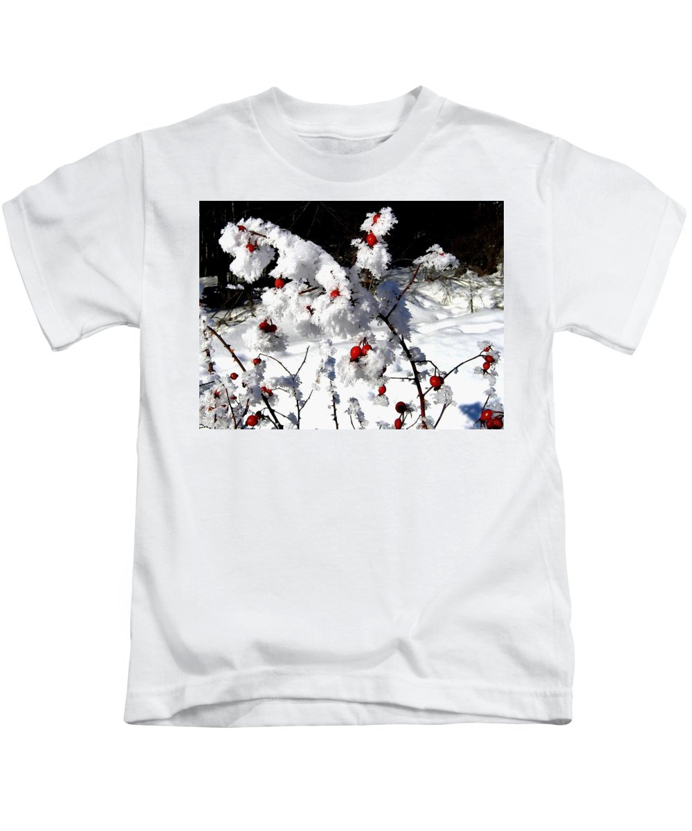 Frost Kids T-Shirt featuring the photograph Highland Frost by Will Borden