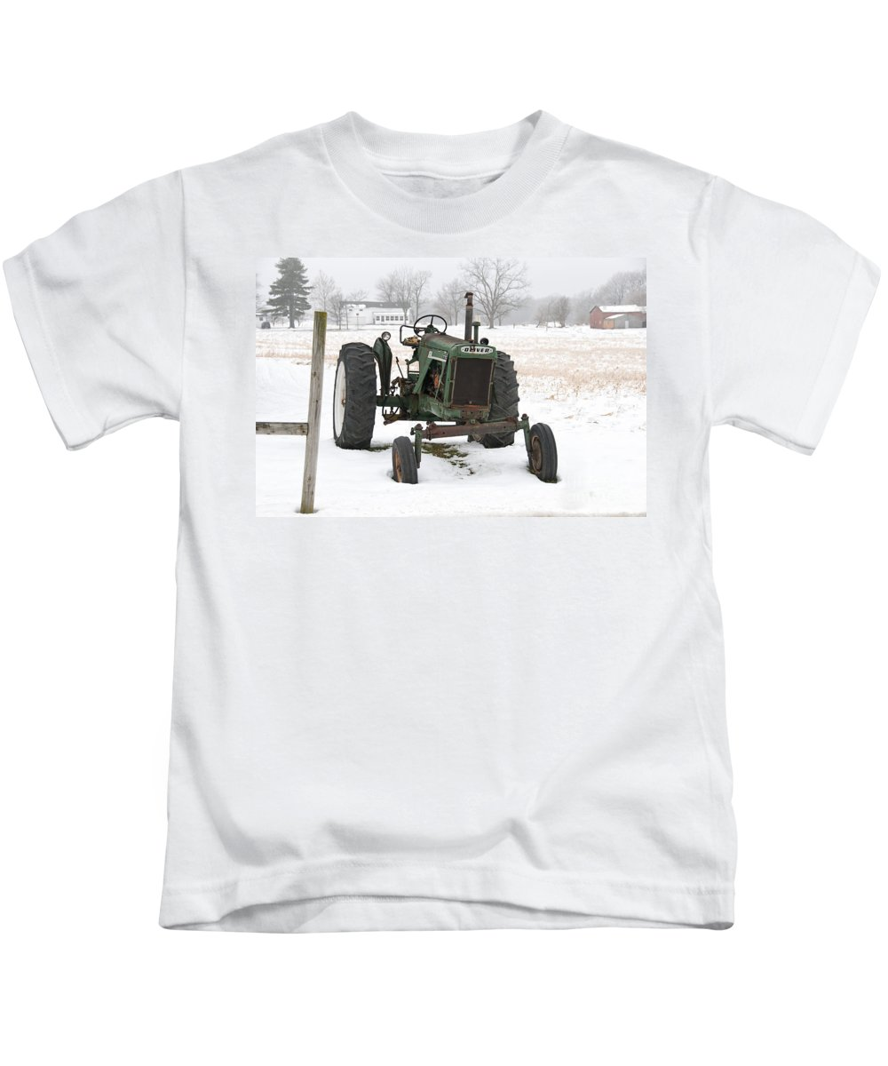 Oliver Kids T-Shirt featuring the photograph Oliver by David Arment