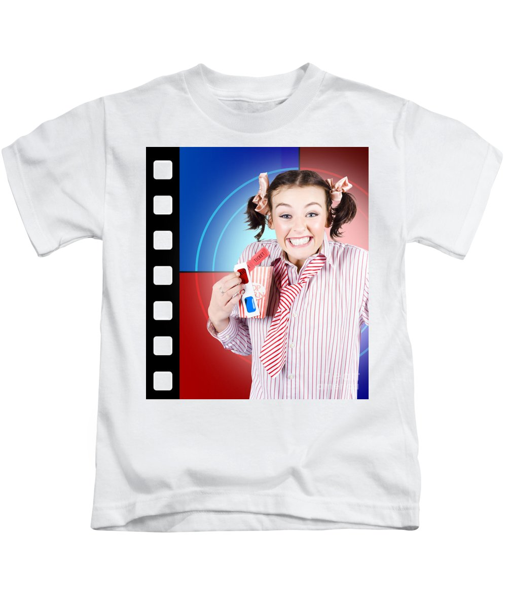 Anaglyph Photographs Kids T-Shirts
