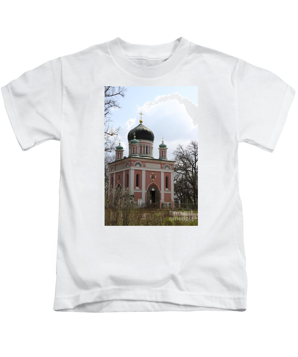 Church Kids T-Shirt featuring the photograph Russian Church by Christiane Schulze Art And Photography