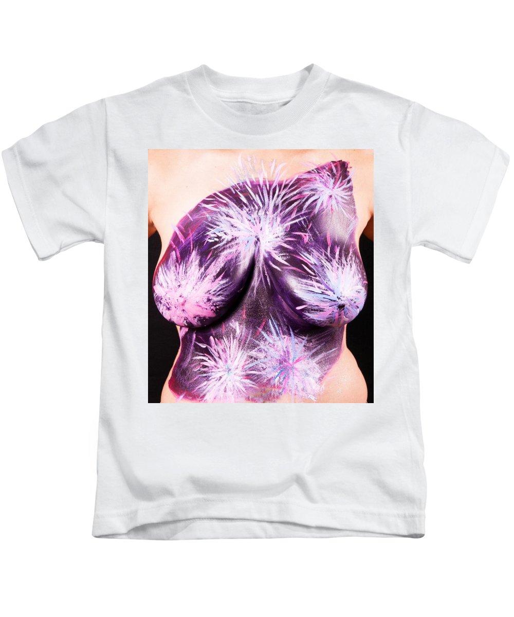 Hadassah Greater Atlanta Kids T-Shirt featuring the photograph 19. Pauline Weisz, Artist, 2015 by Best Strokes - formerly Breast Strokes - Hadassah Greater Atlanta