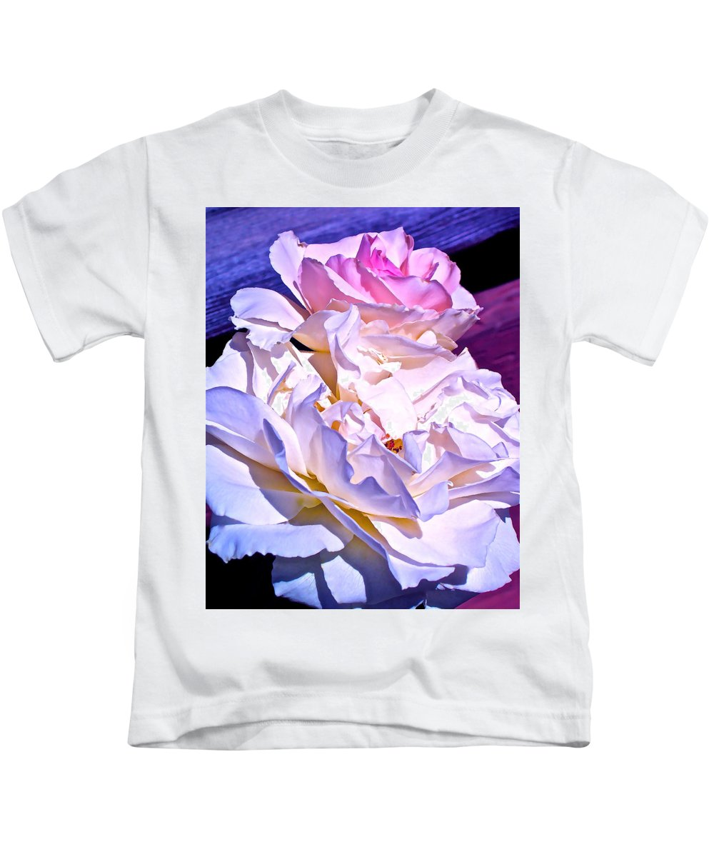 Rose Kids T-Shirt featuring the photograph Rose 58 by Pamela Cooper
