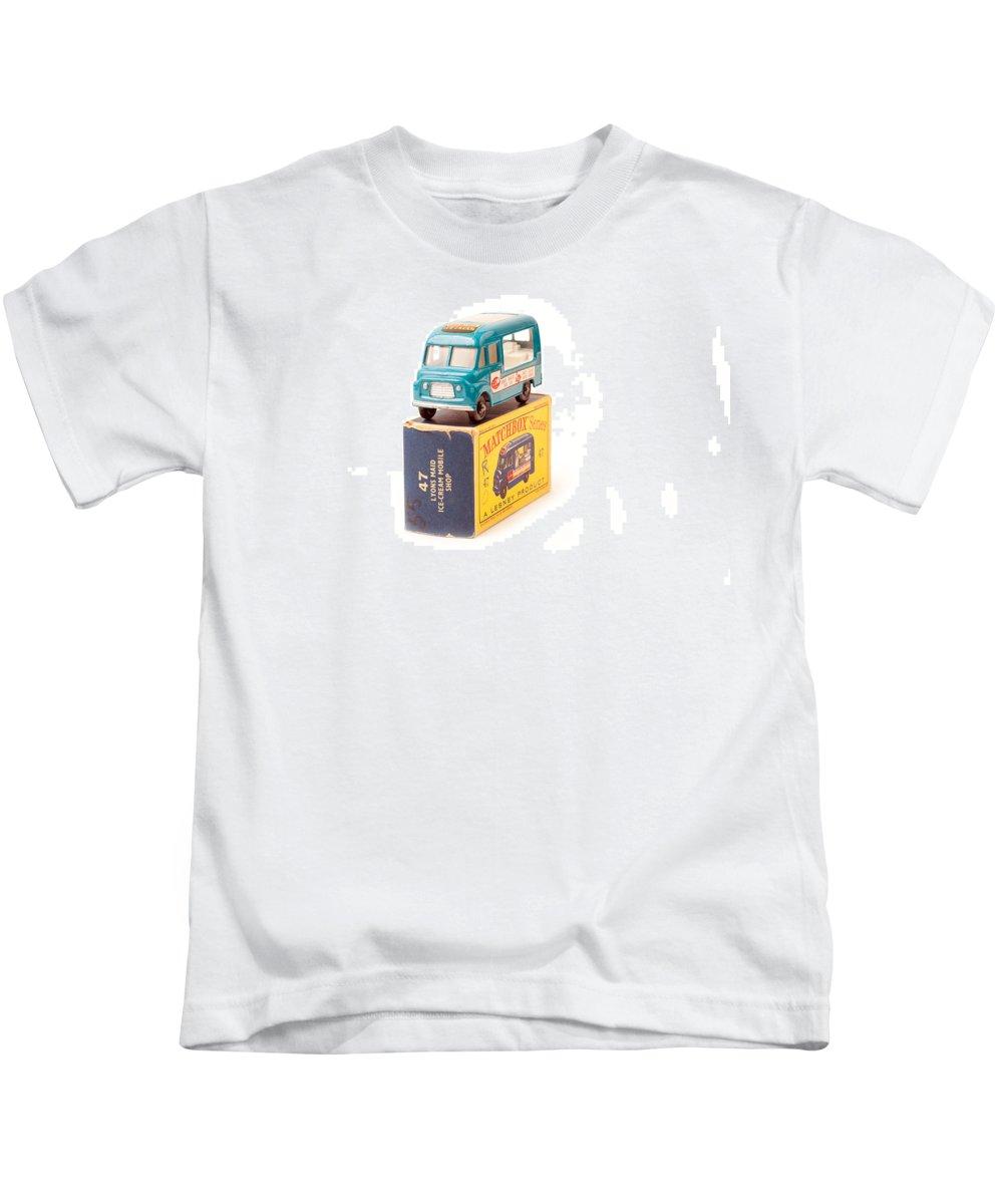 Antique Kids T-Shirt featuring the photograph Matchbox 1-75 by Gunter Nezhoda