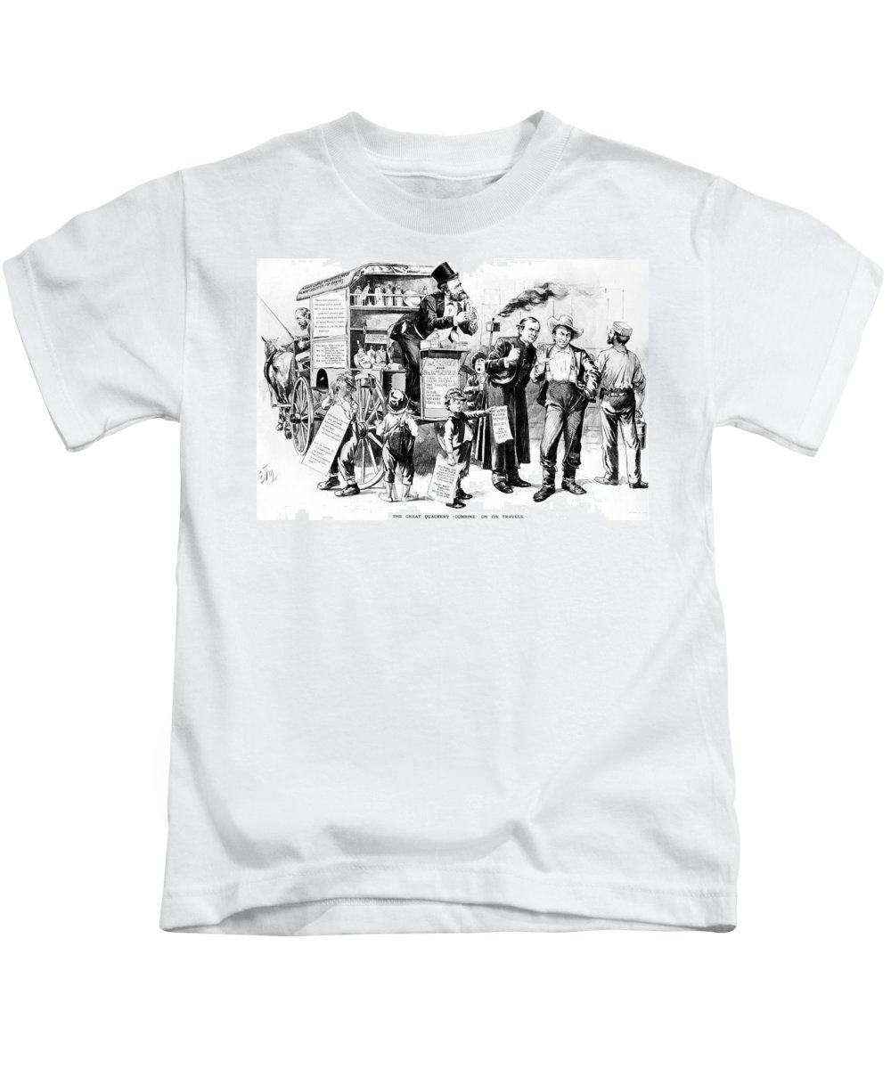 1887 Kids T-Shirt featuring the photograph Henry George (1839-1897) by Granger