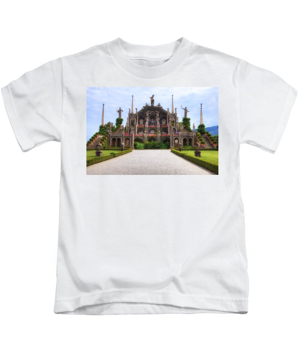 Isola Bella Kids T-Shirt featuring the photograph Isola Bella by Joana Kruse
