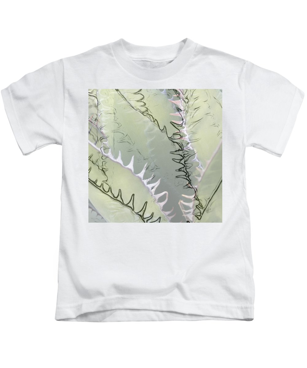 Agave Kids T-Shirt featuring the photograph Agave Abstract by Ben and Raisa Gertsberg