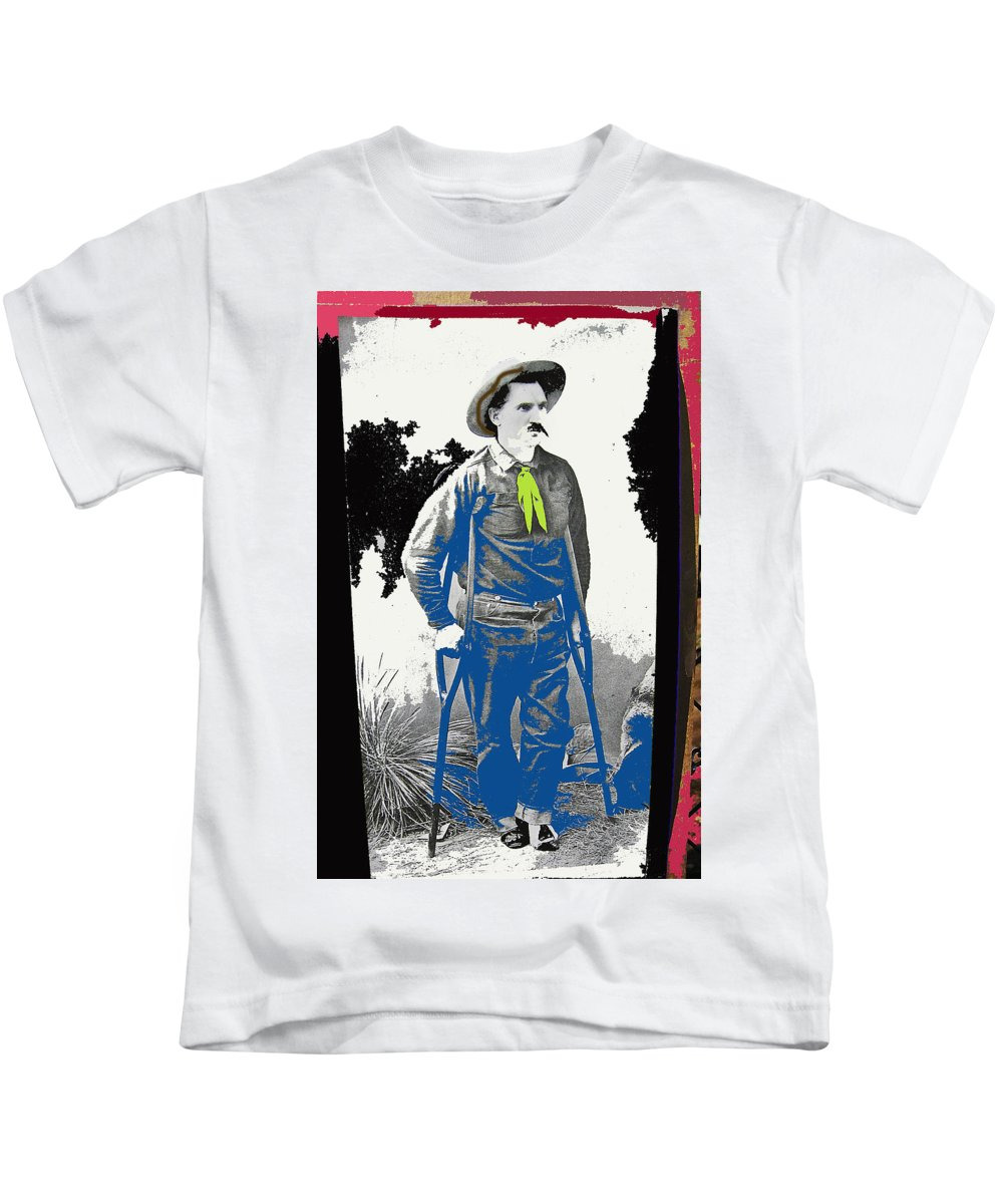 Al Seiber Chief Scout Indian Wars No Date 2013 Kids T-Shirt featuring the photograph Al Seiber Chief Scout Indian Wars No Date 2013 by David Lee Guss