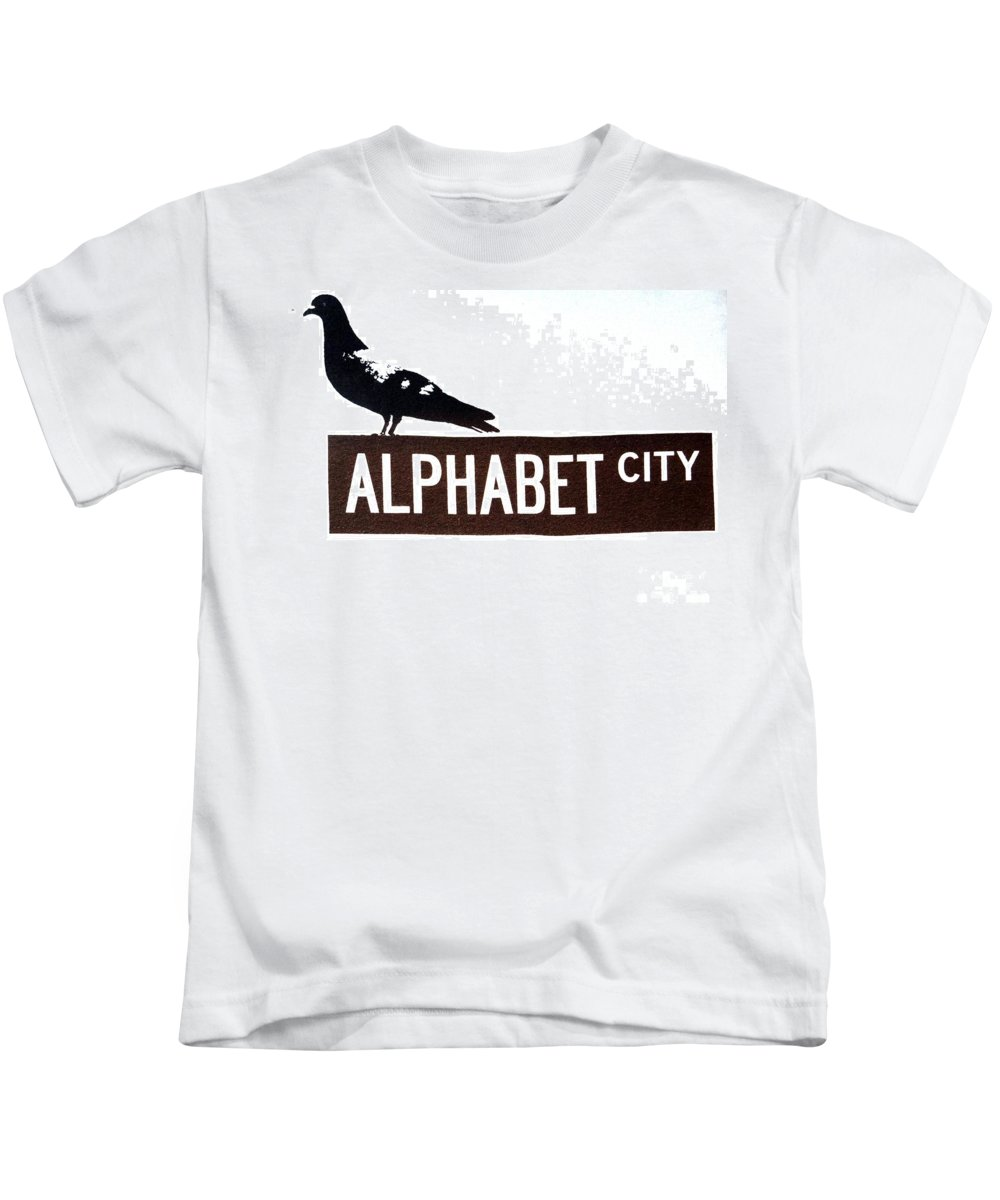 New York City Kids T-Shirt featuring the photograph Alphabet City by Ed Weidman