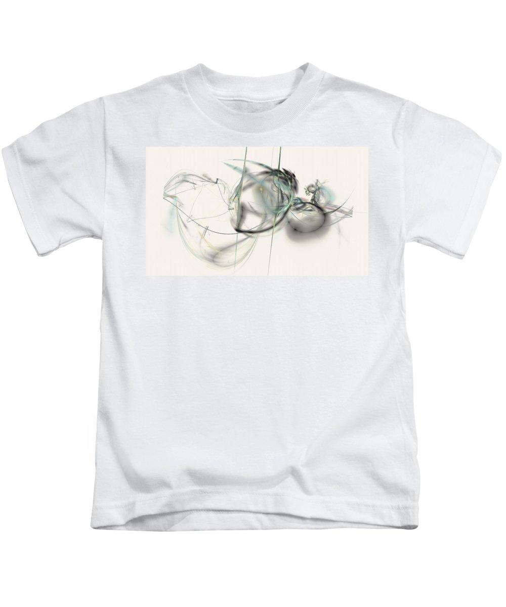 Fractal Art Kids T-Shirt featuring the photograph Aquarium by David Ridley