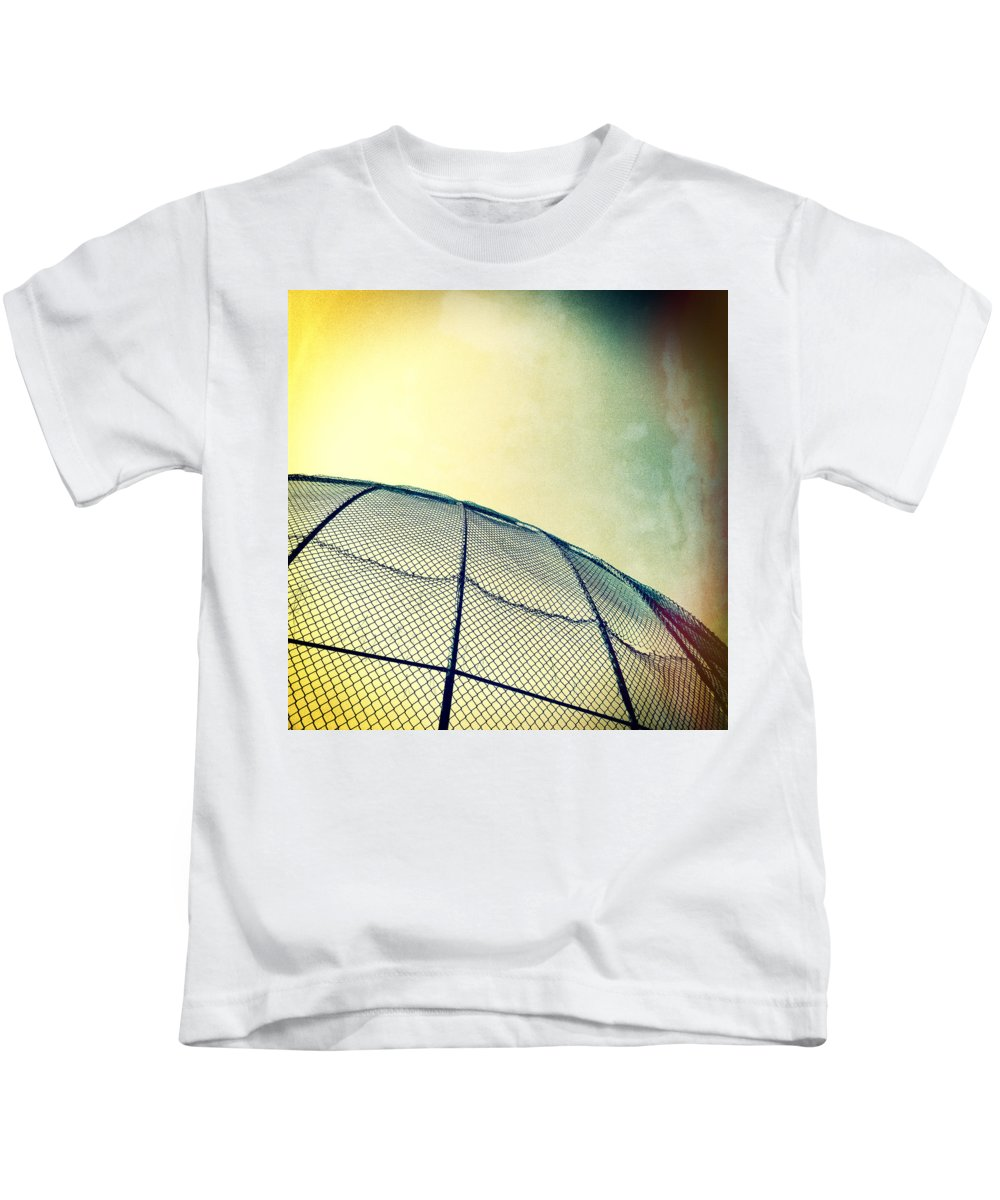 Cal Ripkin Kids T-Shirt featuring the photograph Baseball Field 8 by YoPedro