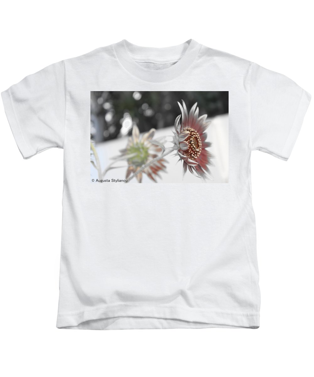 Flower Kids T-Shirt featuring the photograph Beautiful Flowers by Augusta Stylianou