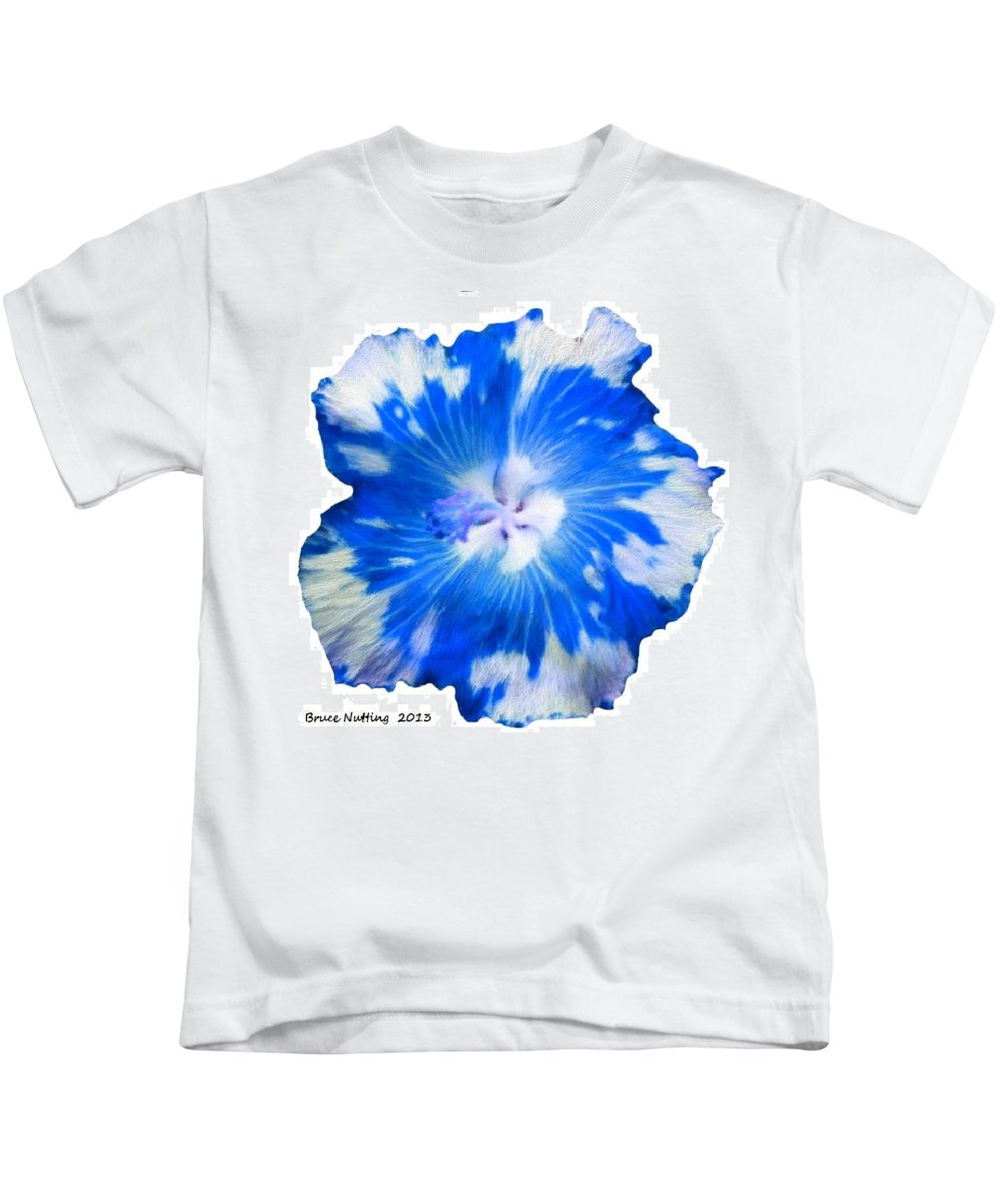Appaloosa Kids T-Shirt featuring the painting Blue Appaloosa by Bruce Nutting