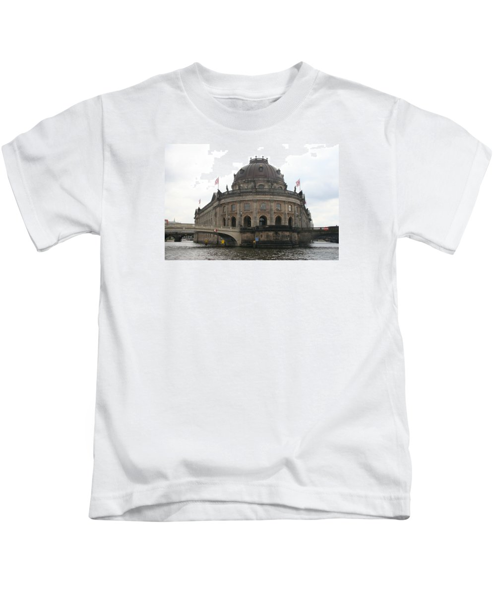 Museum Kids T-Shirt featuring the photograph Bode Museum - Berlin - Germany by Christiane Schulze Art And Photography