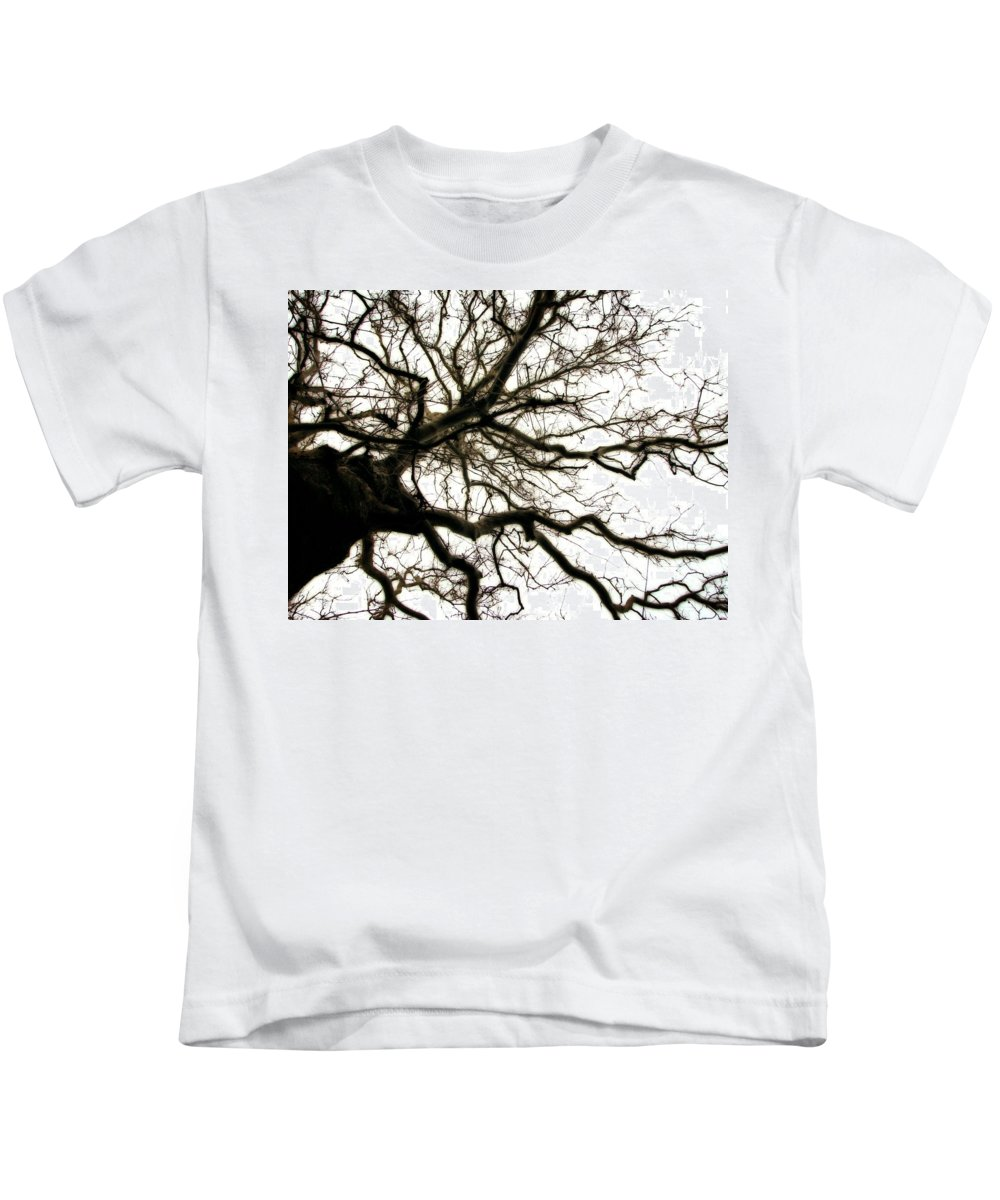 Branches Kids T-Shirt featuring the photograph Branches by Michelle Calkins