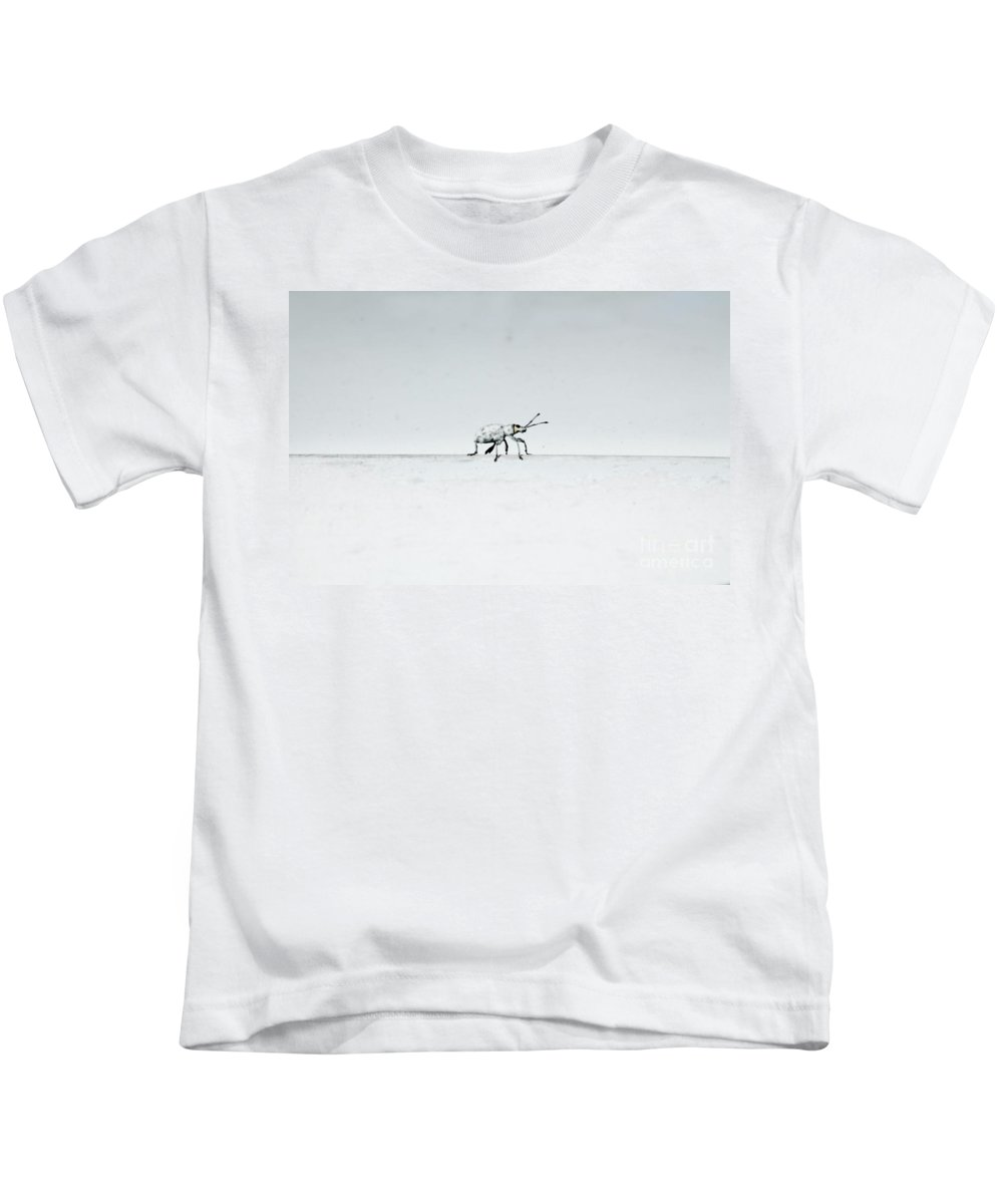 Keri West Kids T-Shirt featuring the photograph Bug On by Keri West