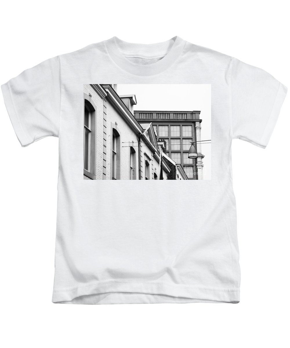 Maastricht Kids T-Shirt featuring the photograph Buildings In Maastricht by Nick Biemans