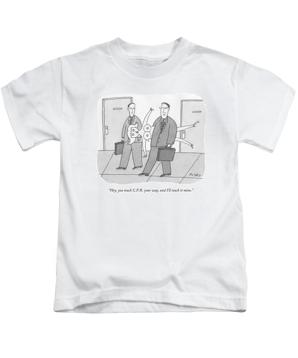businessmen kids t shirt featuring the drawing businessman has blow up sex doll in
