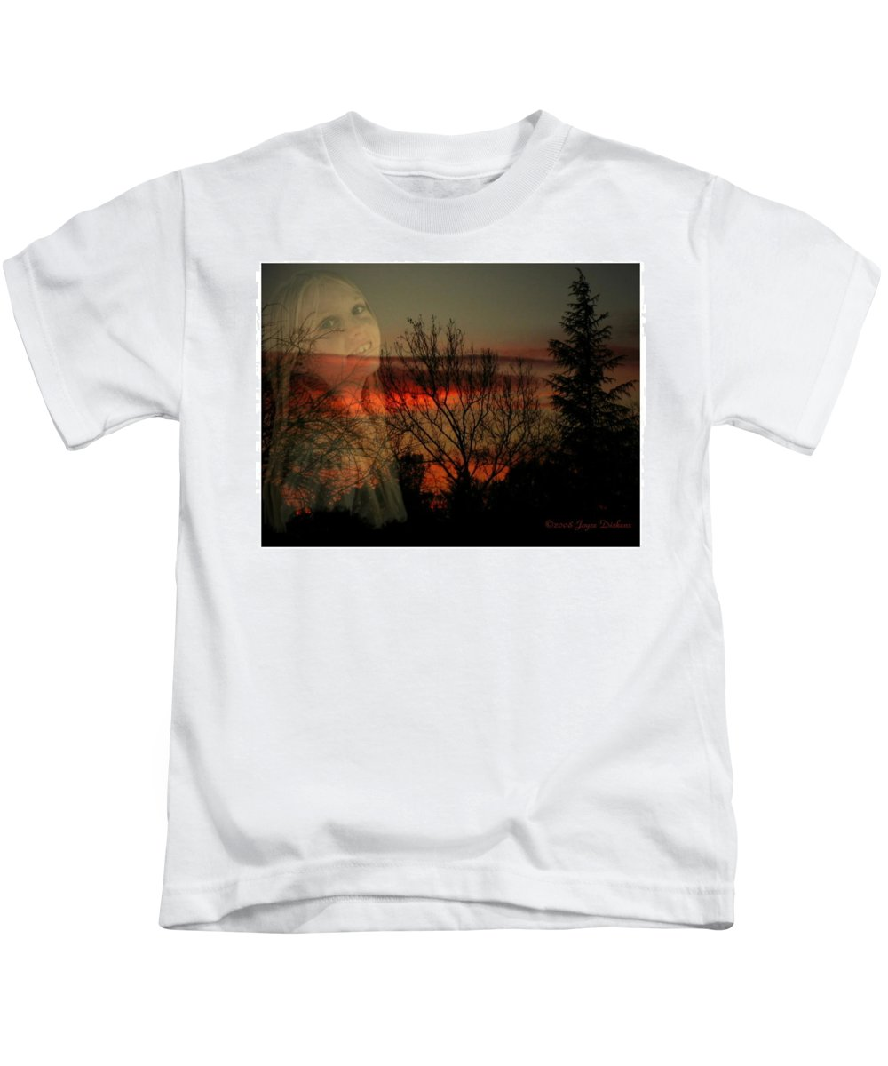 Custom Kids T-Shirt featuring the photograph Celebrate Life by Joyce Dickens