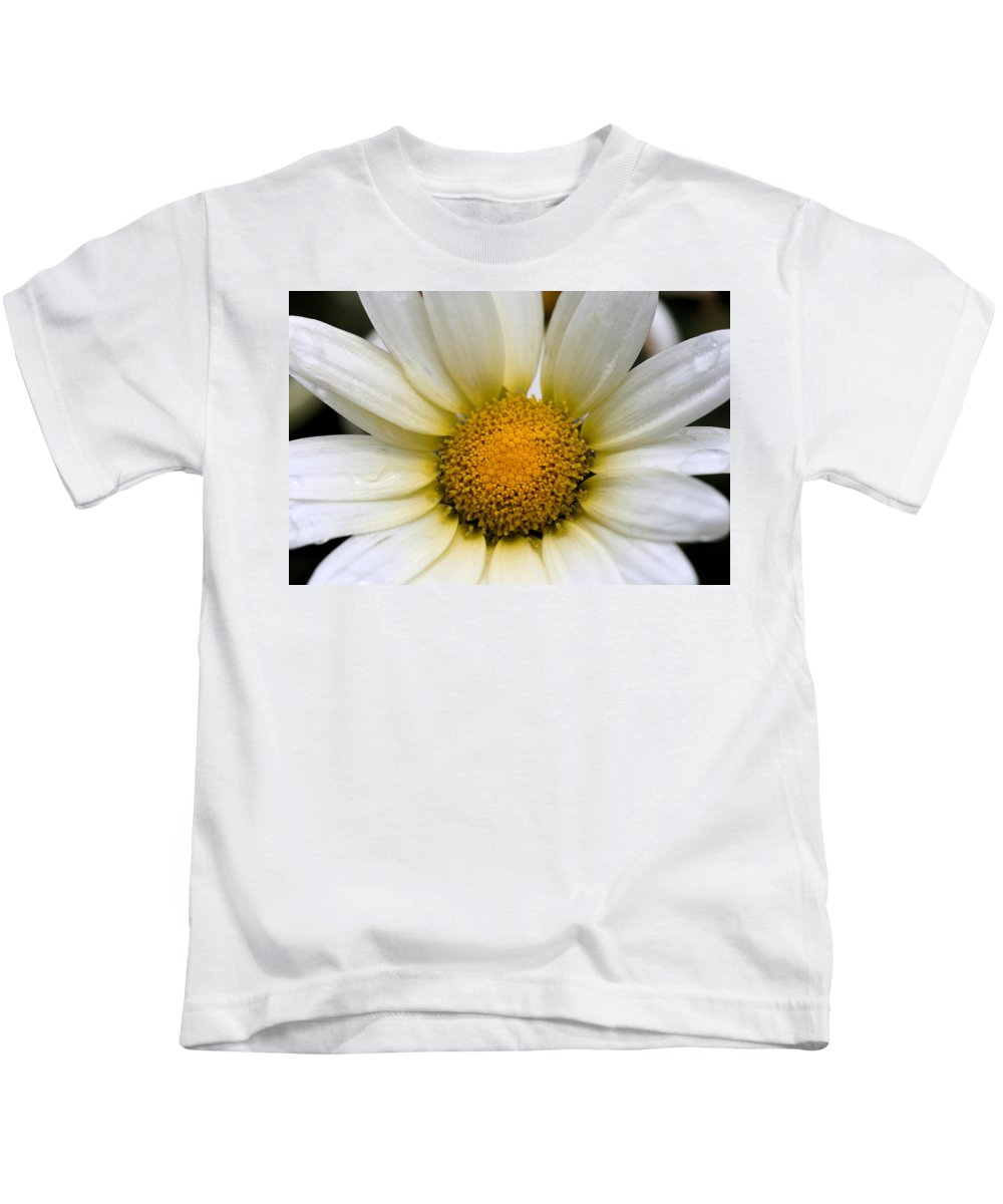 Flower Kids T-Shirt featuring the photograph Cheery Daisy by Angela Rath