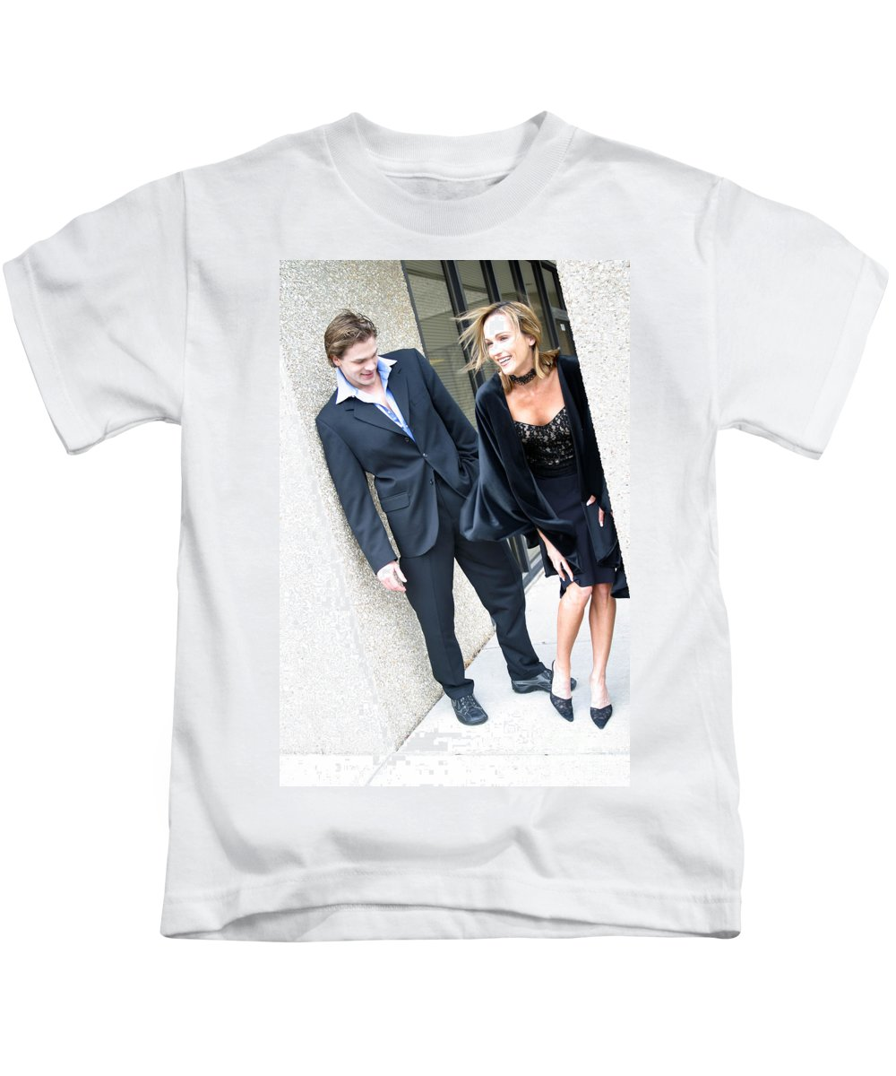 Female Kids T-Shirt featuring the photograph Couple 25 by Gary Gingrich Galleries