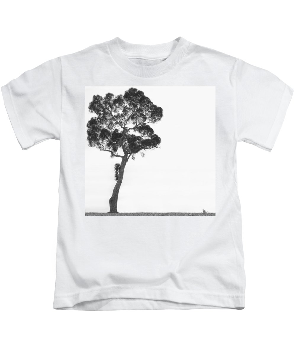 Bird And Cat Kids T-Shirt featuring the photograph Damn Missed Again by Mike McGlothlen