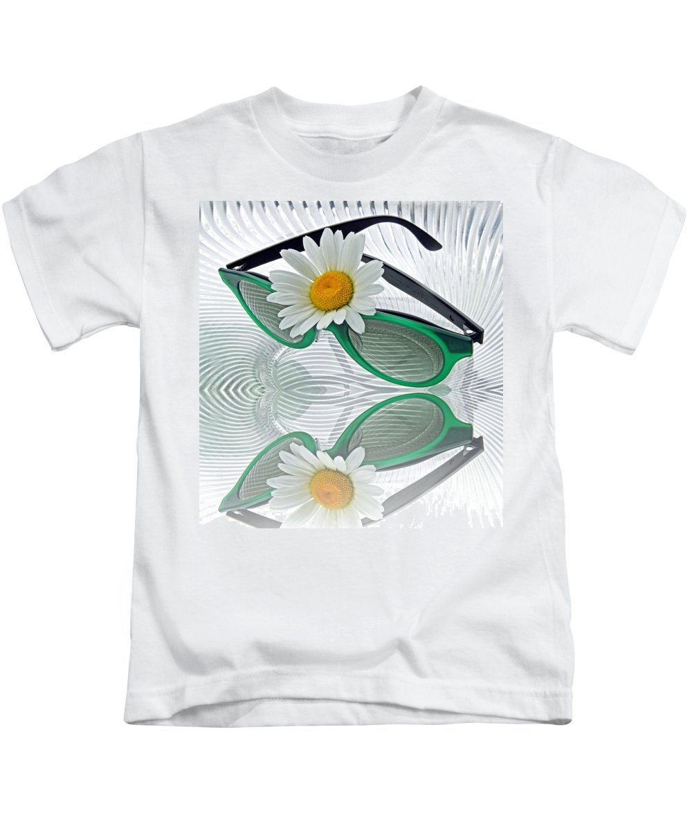 Summer Kids T-Shirt featuring the photograph Daylight Saving Time by Manfred Lutzius