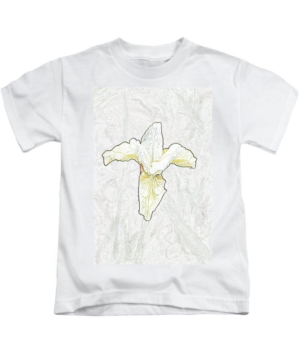 Delicate Kids T-Shirt featuring the photograph Delicate Bloom by Robert DeFosses