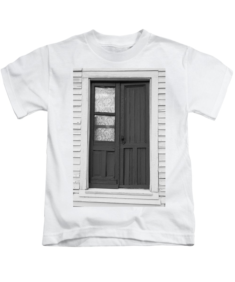 Door Kids T-Shirt featuring the photograph Door To The Past by Lynne Jenkins