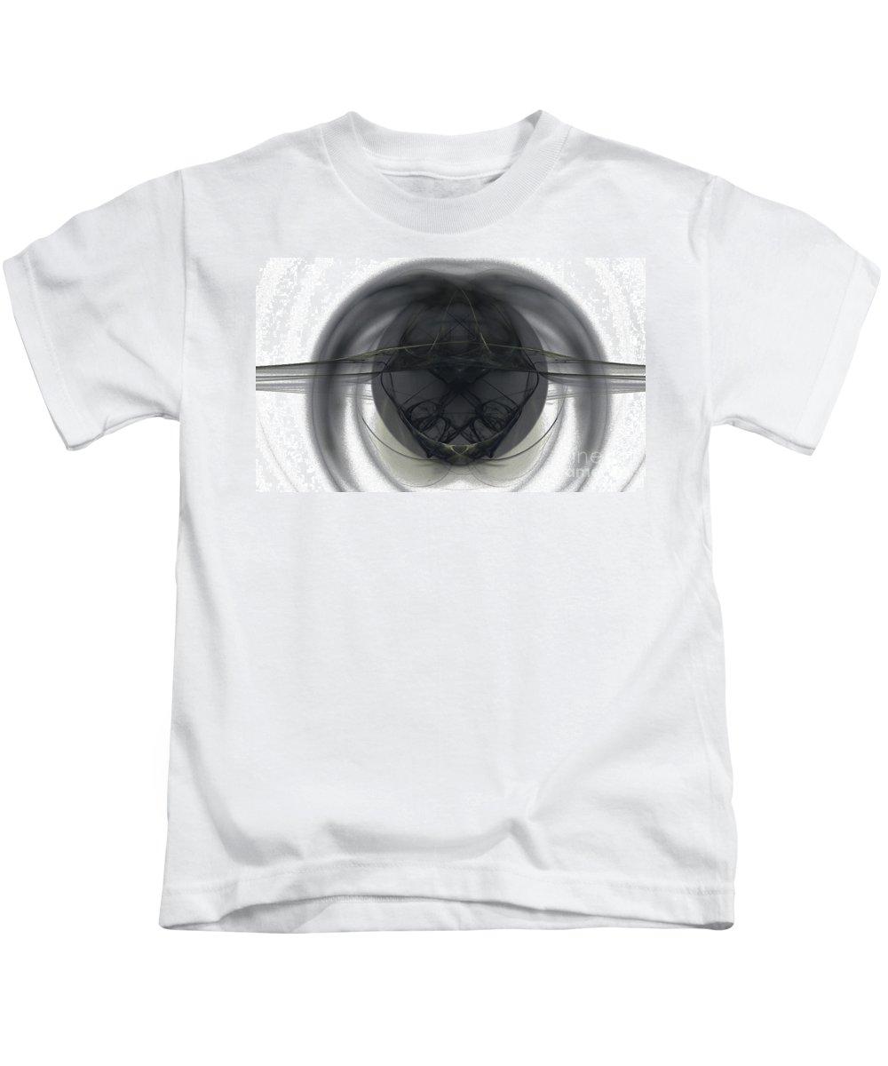 Fractal 103 Kids T-Shirt featuring the digital art Fractal 103 by Taylor Webb