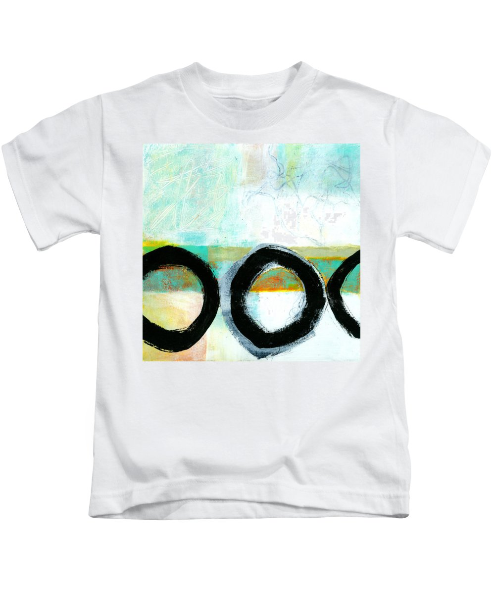 8�x8� Kids T-Shirt featuring the painting Fresh Paint #4 by Jane Davies