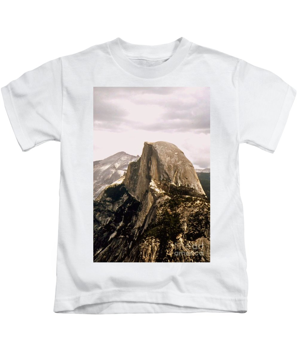 Half Kids T-Shirt featuring the photograph Half Dome by Kathleen Struckle