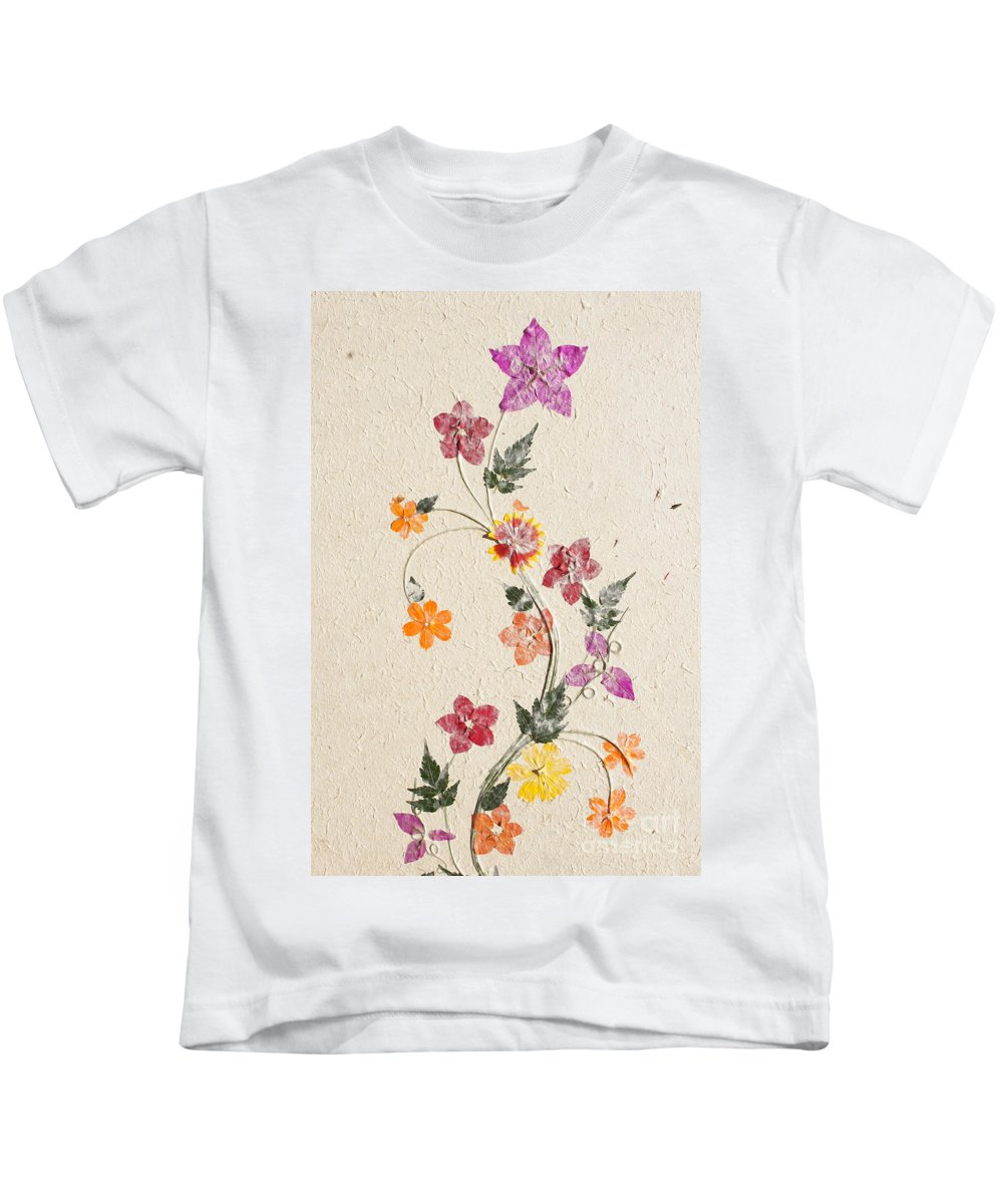 Africa Kids T-Shirt featuring the photograph handmade paper from Madagascar 3 by Rudi Prott