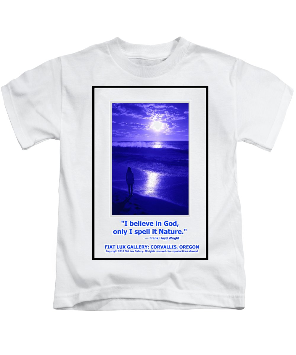 God Kids T-Shirt featuring the photograph I Believe In God by Michael Moore