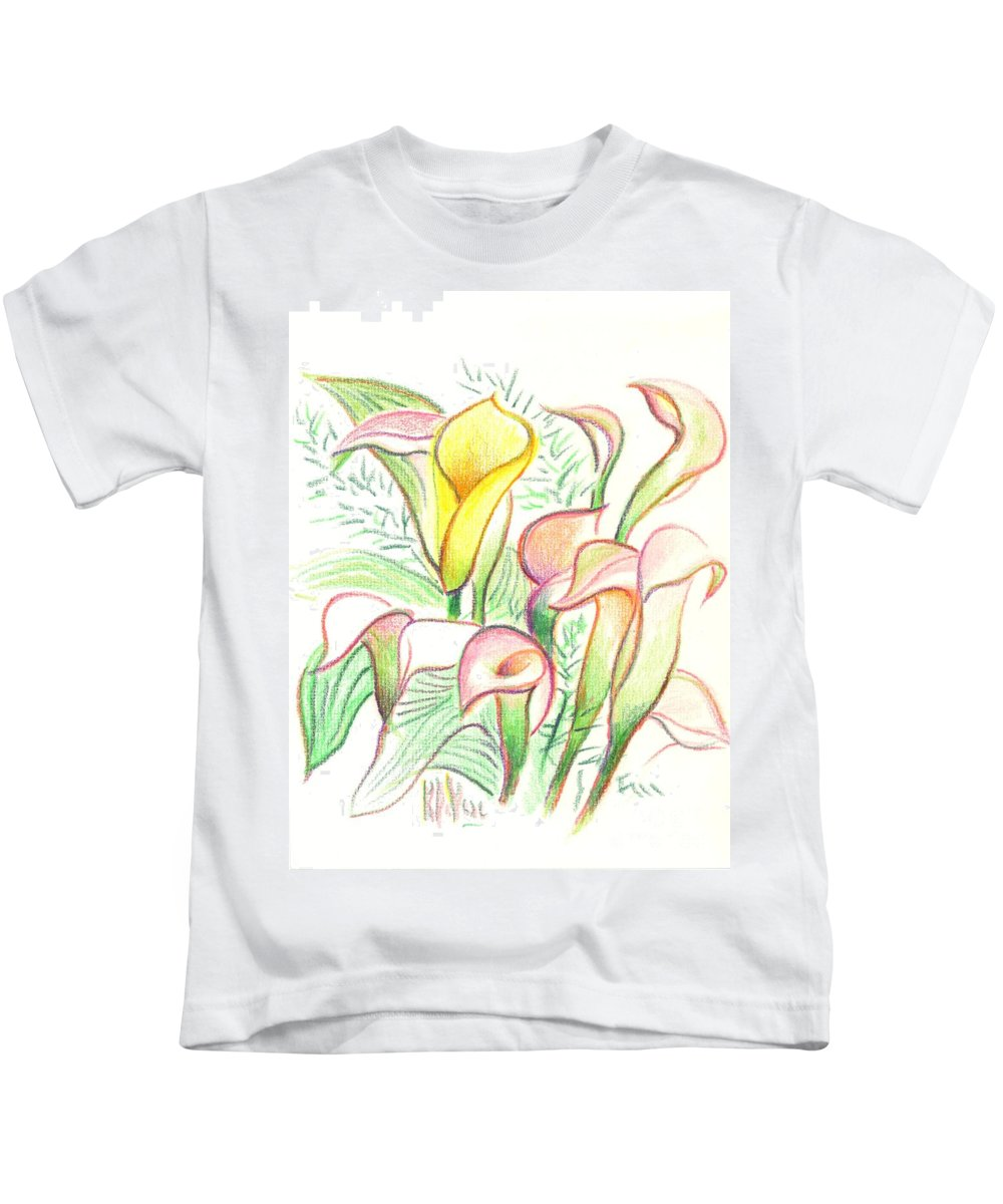 In The Golden Afternoon Kids T-Shirt featuring the painting In The Golden Afternoon by Kip DeVore