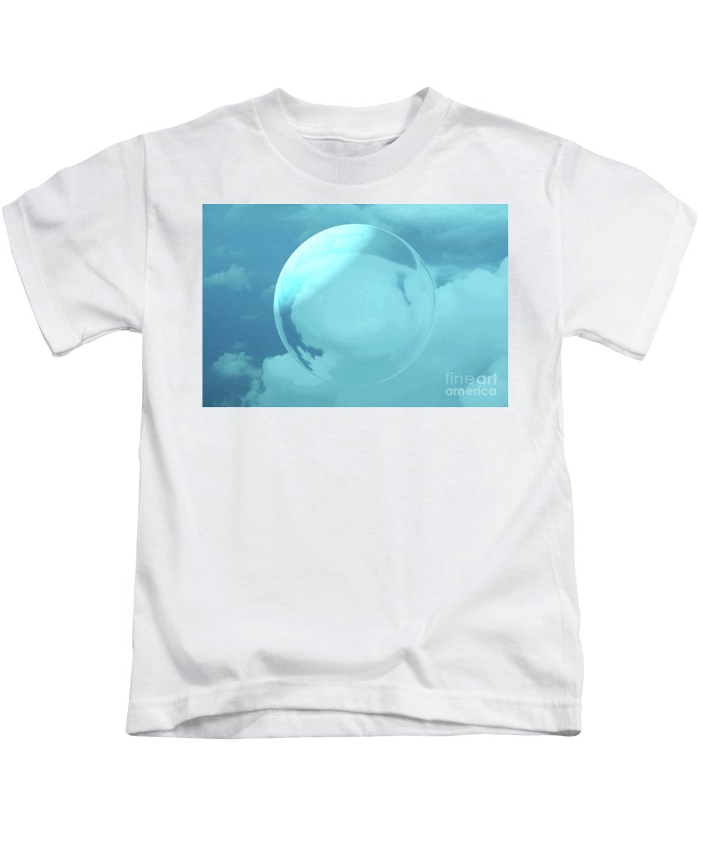 Sky Kids T-Shirt featuring the photograph Infinity by Kathleen Struckle