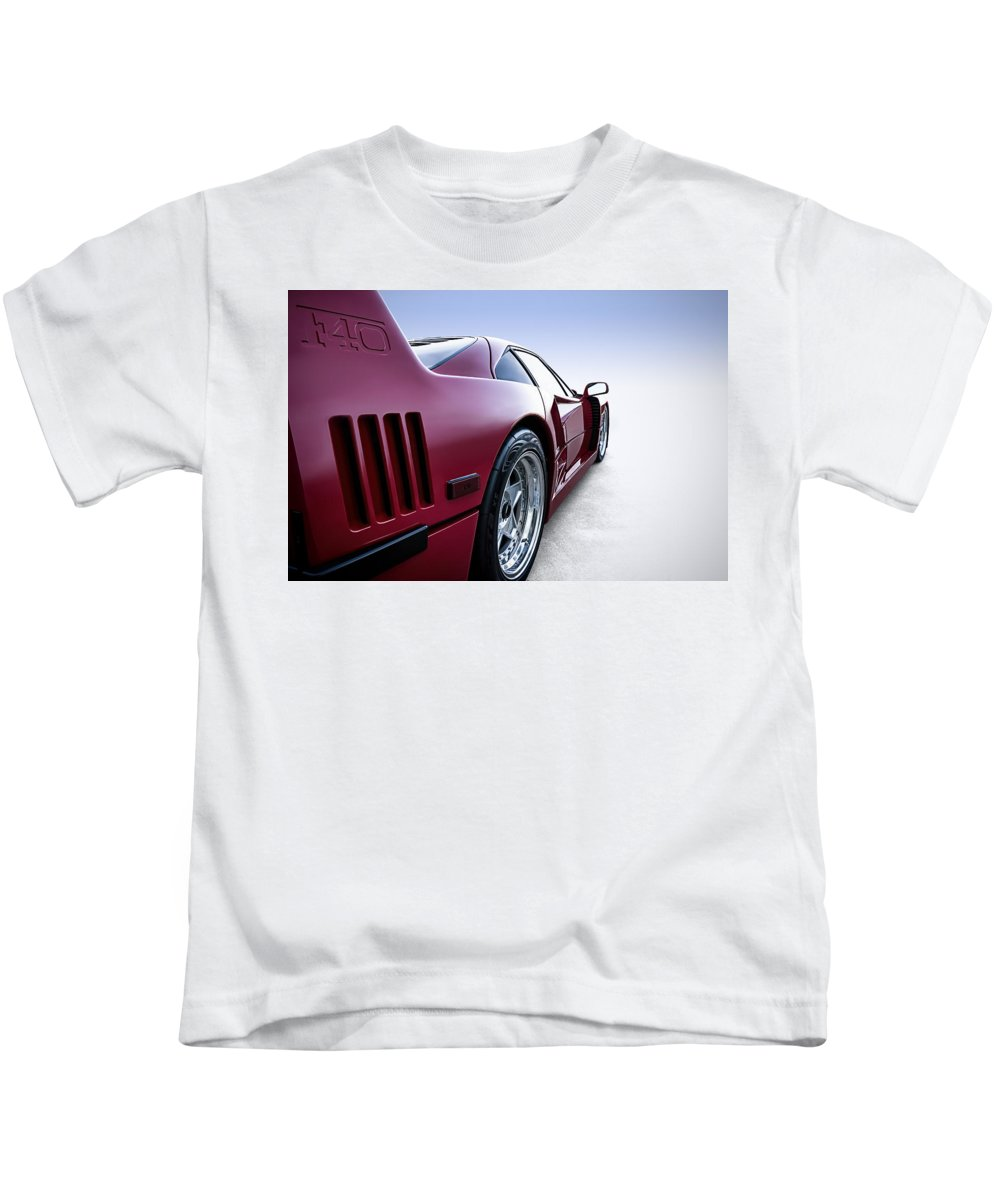 Red Kids T-Shirt featuring the digital art Into The Great Wide Open by Douglas Pittman