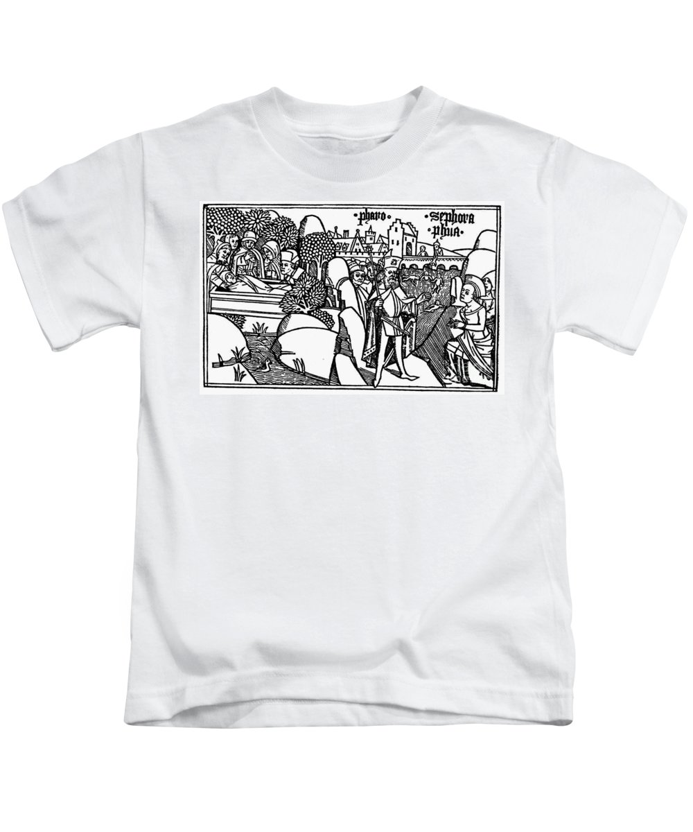 1478 Kids T-Shirt featuring the photograph Israel In Egypt by Granger