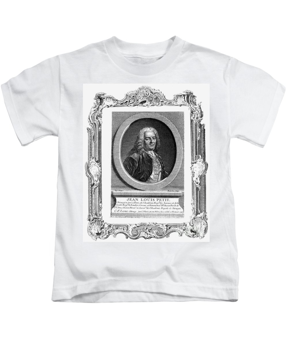 18th Century Kids T-Shirt featuring the photograph Jean Louis Petit (1674-1750) by Granger