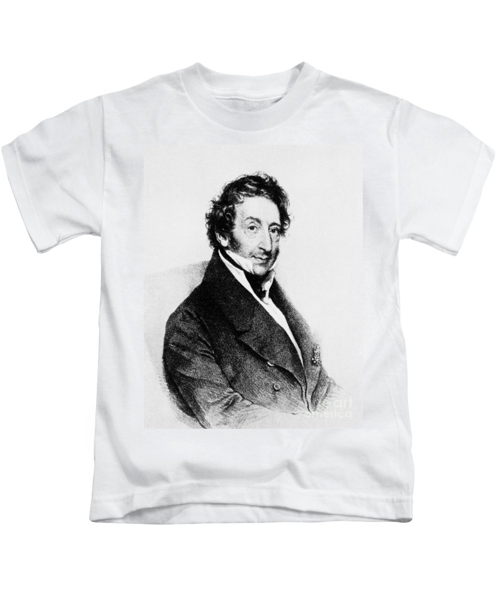 18th Century Kids T-Shirt featuring the photograph Johann Von Malfatti by Granger