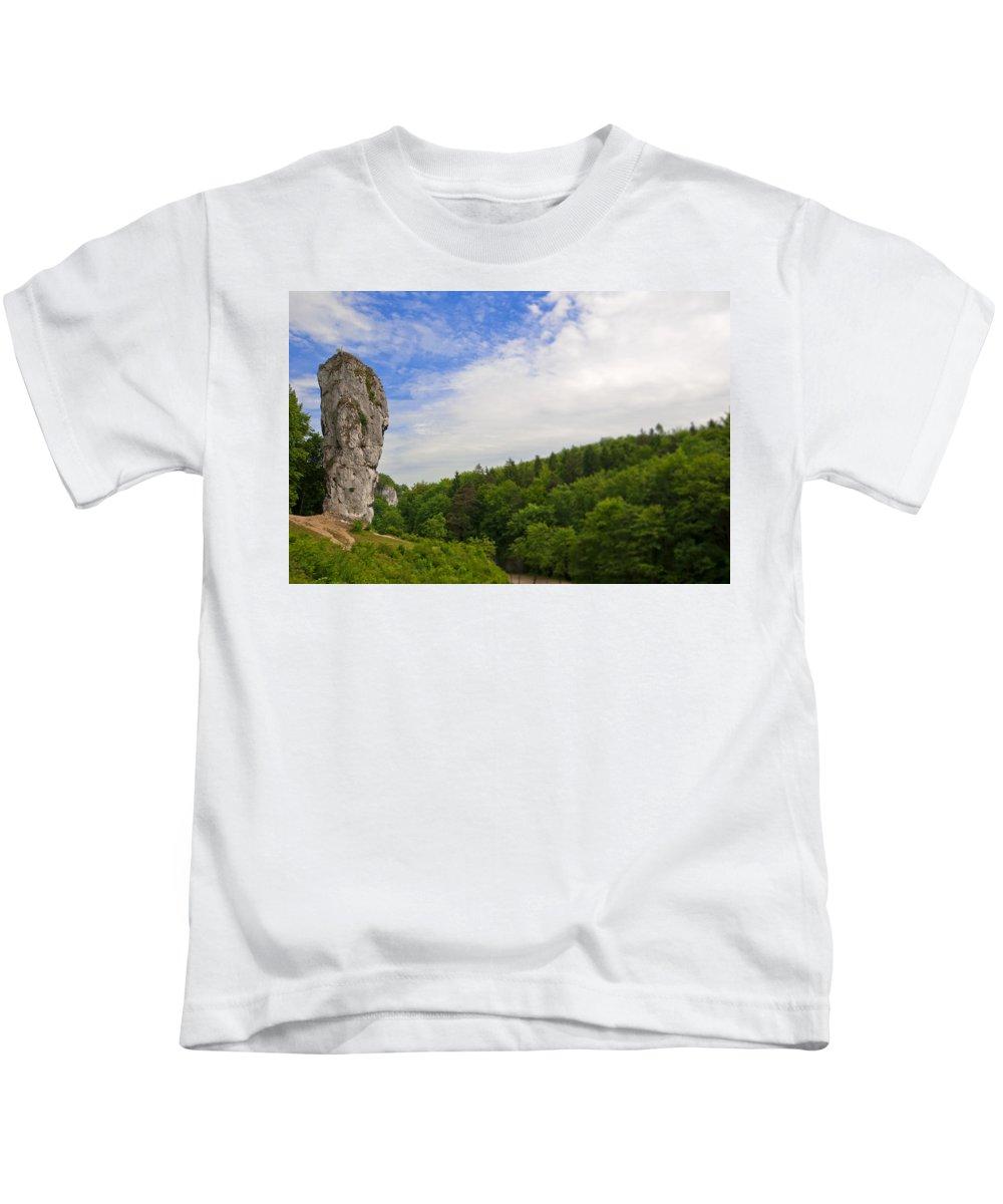 Landscape Kids T-Shirt featuring the photograph Jurassic Park by Les Lorek