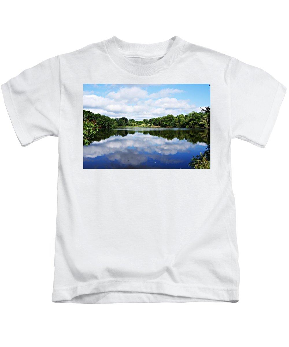 Lagoon Kids T-Shirt featuring the photograph Lagoon IIi by Joe Faherty