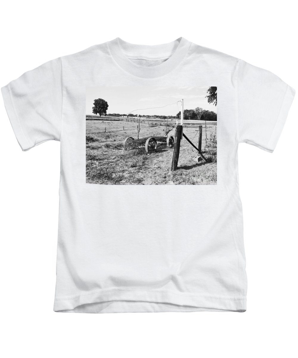 Landscape Kids T-Shirt featuring the photograph Left Behind by Minding My Visions by Adri and Ray