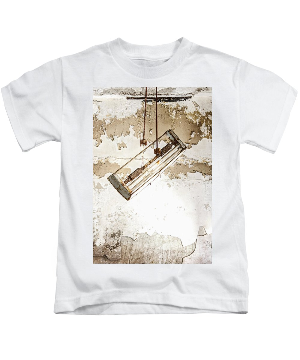 Light Kids T-Shirt featuring the photograph Lights Out by Margie Hurwich