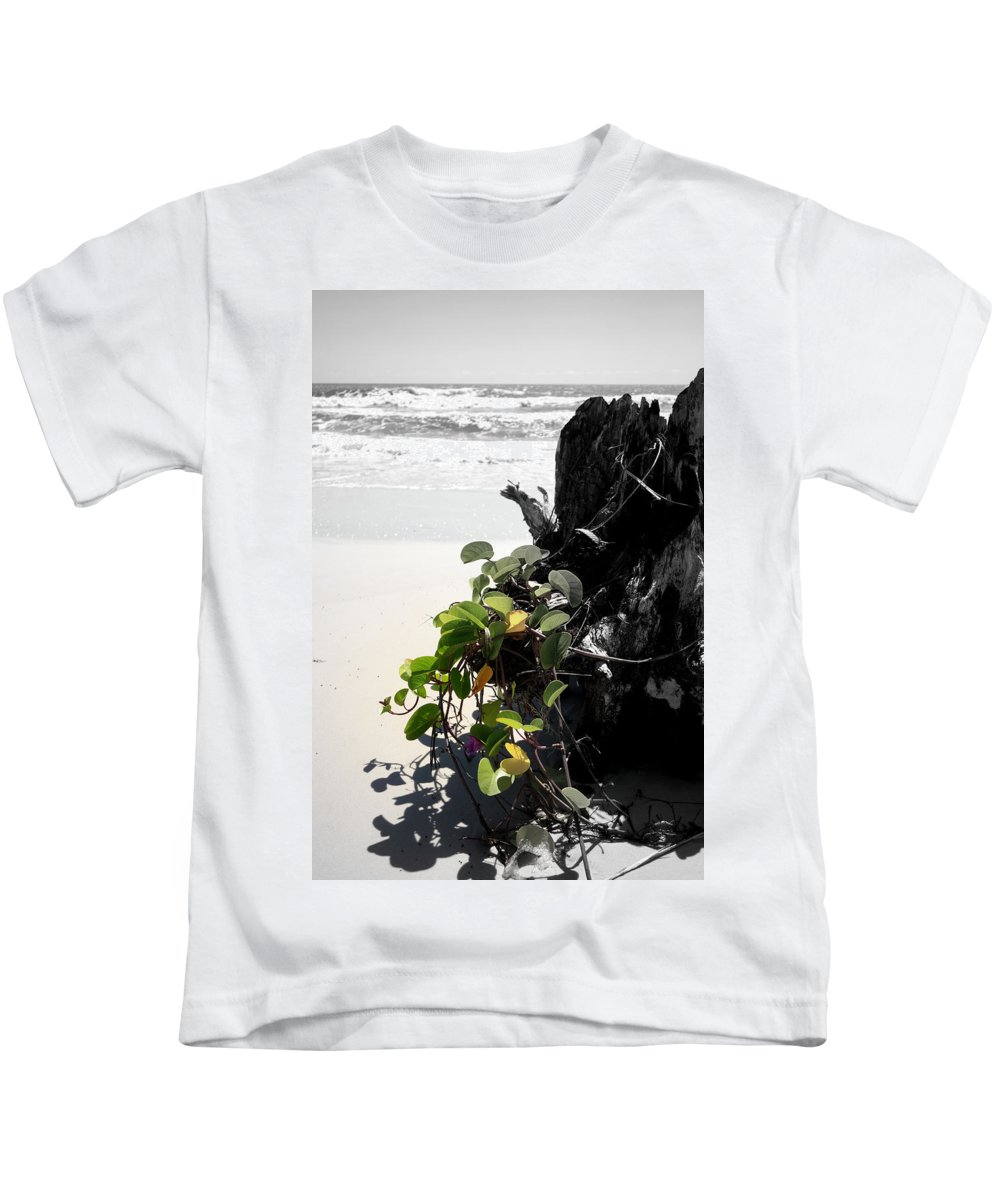 Digital Photograph Kids T-Shirt featuring the photograph Live And Dead by Laurie Pike