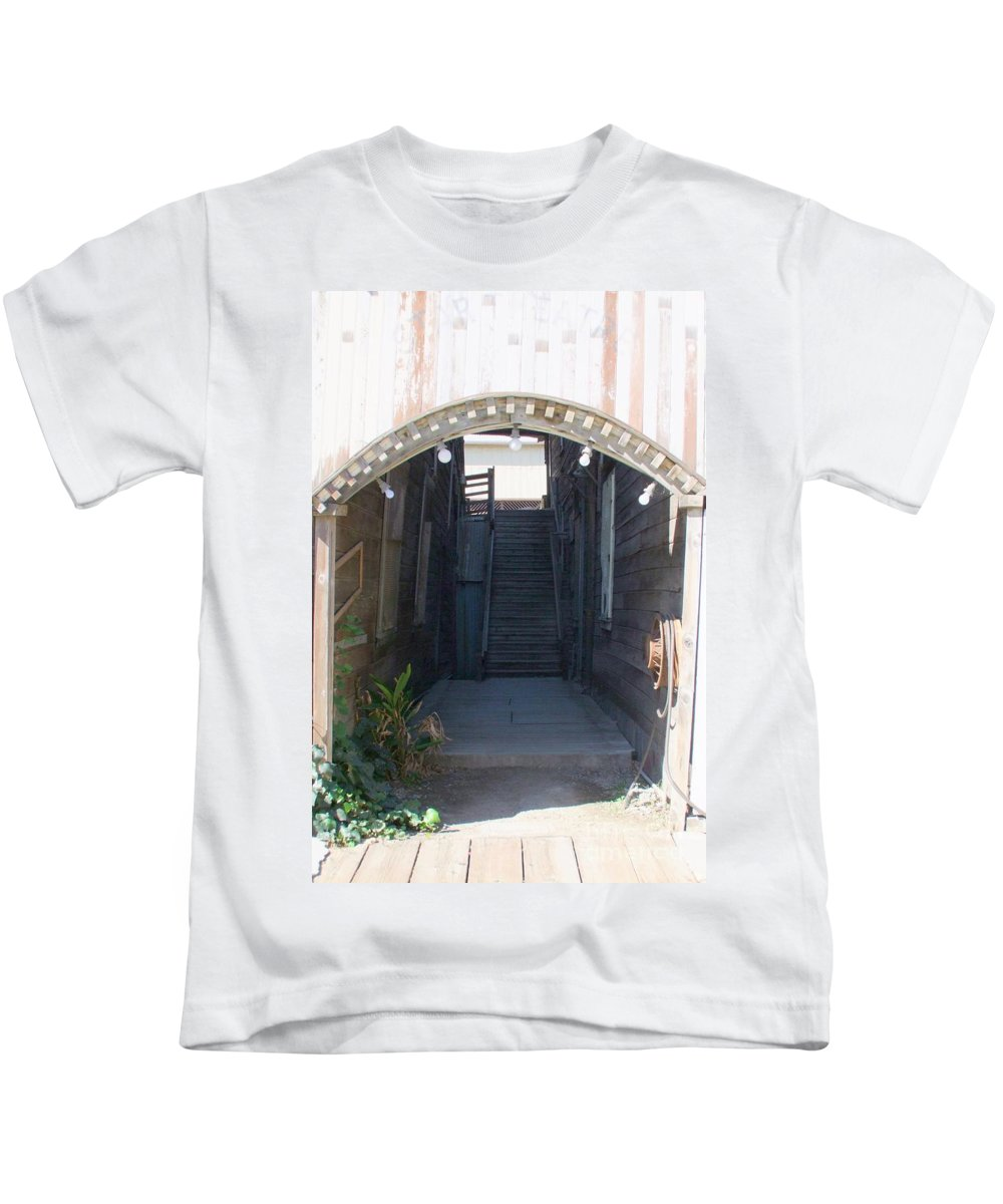 Buildings Kids T-Shirt featuring the photograph Locke Chinatown Series - Star Theatre - 2 by Mary Deal