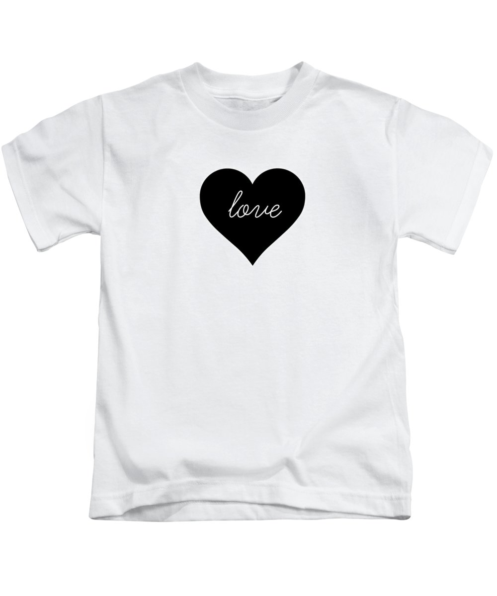 Love Kids T-Shirt featuring the digital art Love by Chastity Hoff