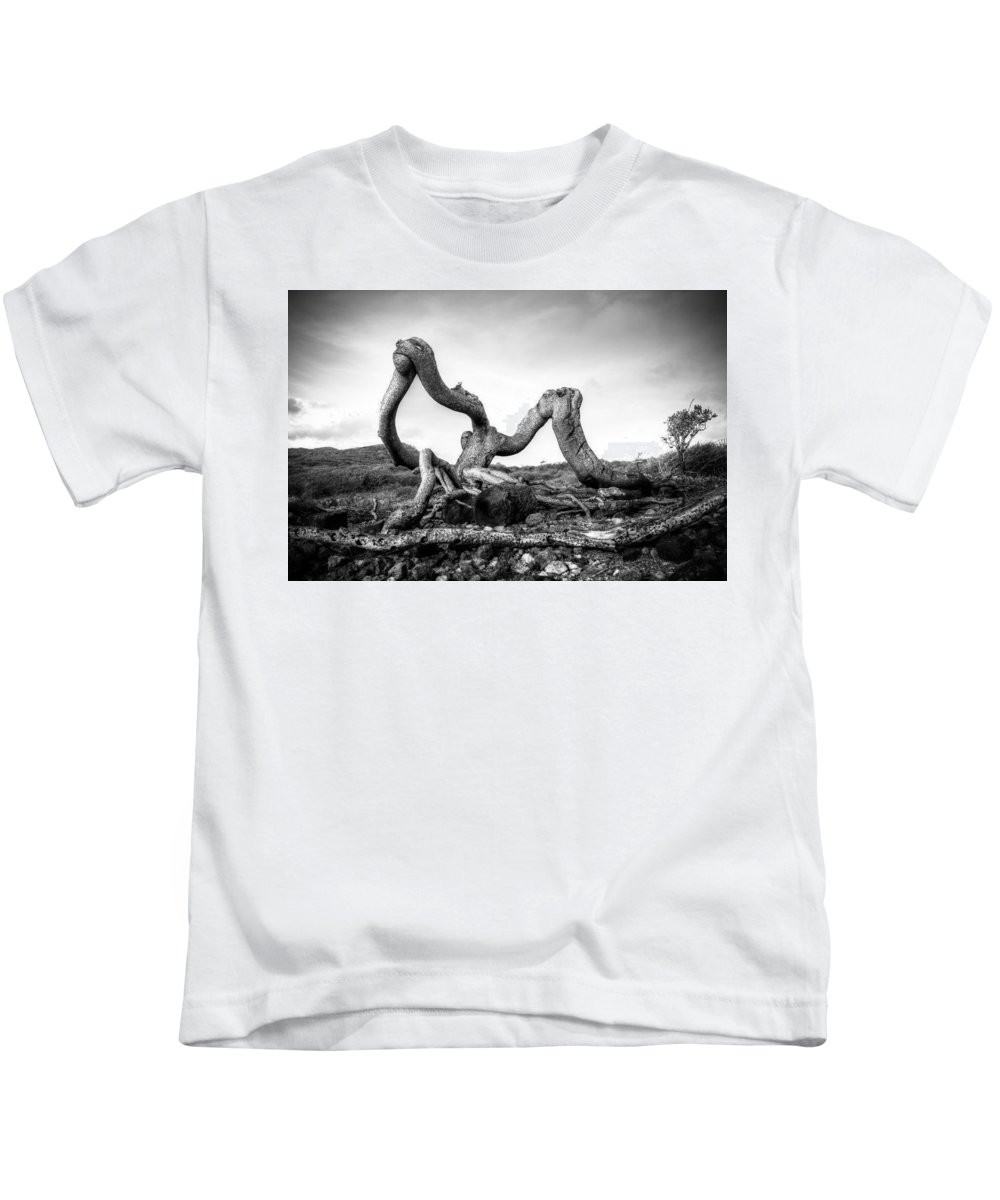 Landscape Kids T-Shirt featuring the photograph Magic Tree by Ferry Zievinger